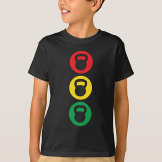 Kettlebell Traffic Light - Ready Set Go T-Shirt