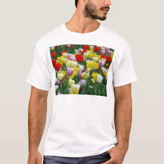 keukenhof gardens floral display, Holland T-Shirt