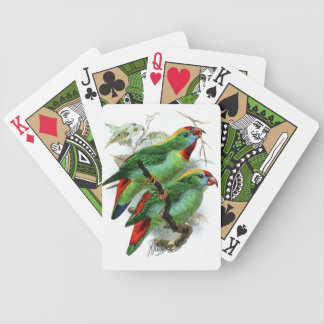 Keulemans' Philippine Hanging Parrot Bicycle Playing Cards