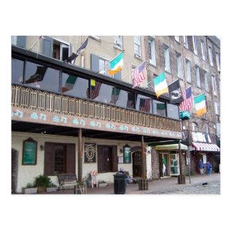 Kevin Barry's Pub - Savannah, GA Postcard