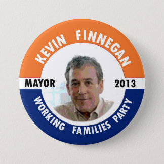 Kevin Finnegan for NYC Mayor 2013 7.5 Cm Round Badge
