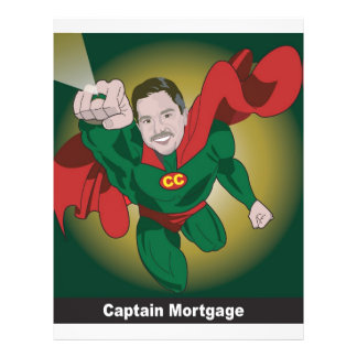 Kevin Onizuk Captain Mortgage Custom Flyer