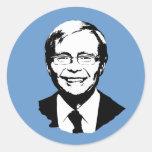 Kevin Rudd Round Sticker