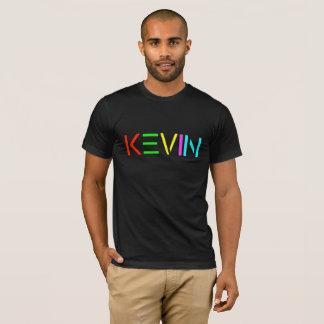 Kevin SPIRIT logo on black T shirt
