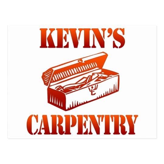 Kevin's Carpentry Postcard