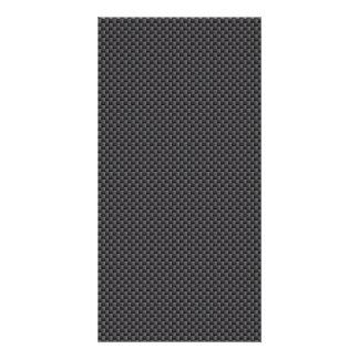 Kevlar Carbon Fiber Material Photo Greeting Card