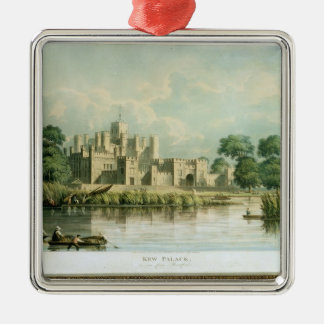 Kew Palace as seen from Brentford, engraved by Tho Christmas Ornament