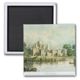 Kew Palace as seen from Brentford, engraved by Tho Square Magnet