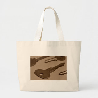 Key Between Stance Jumbo Tote Bag