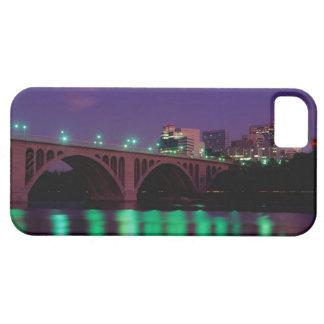 Key Bridge crossing the Potomac River iPhone 5 Cases