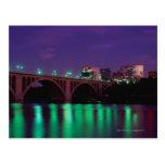 Key Bridge crossing the Potomac River Postcard