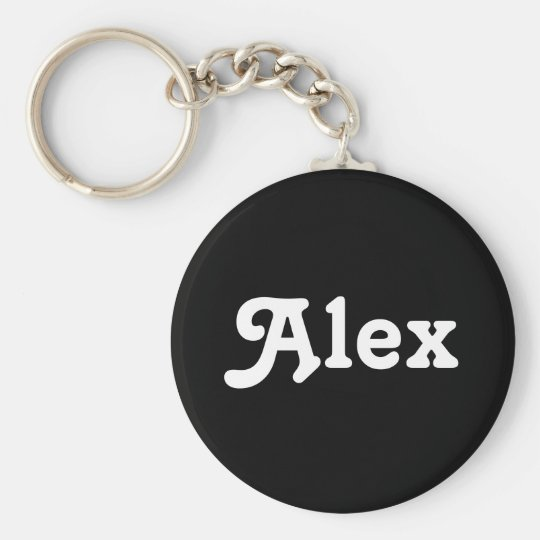 Key Chain Alex
