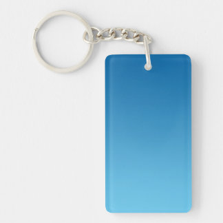 Key Chain: DARK BLUE OMBRE Key Ring