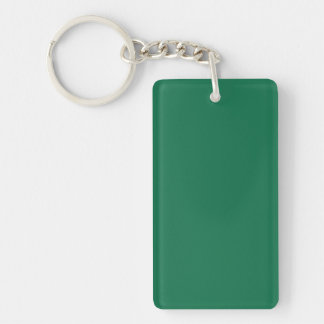 Key Chain: DARK GREEN COLOR Key Ring