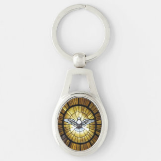 Key Chain--Dove Key Ring