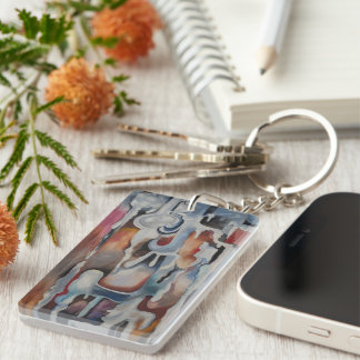 """Key Chain - """"Fire Within"""""""