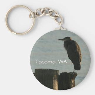 Key Chain: Great Blue Heron