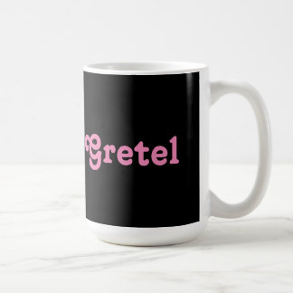 Key Chain Gretel Basic White Mug