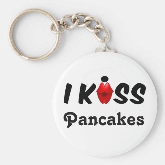 Key Chain I Kiss Pancakes