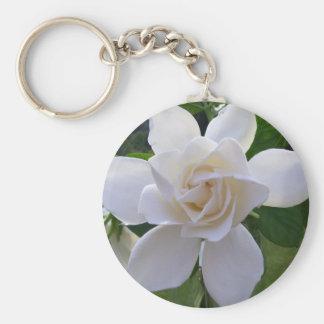 Key Chain - Naturally Gorgeous Gardenia