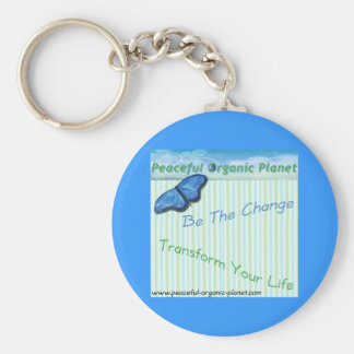 Key Chain -   peaceful organic planet