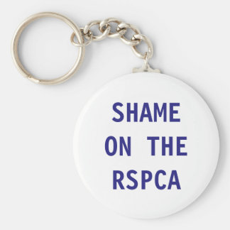 Key Chain Shame On The RSPCA