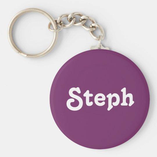 Key Chain Steph
