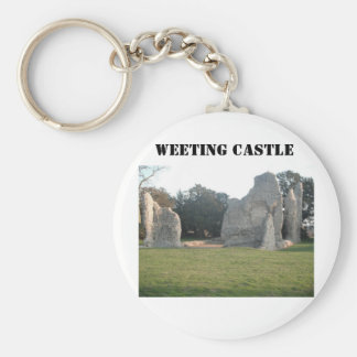 Key Chain Weeting Castle Weeting Norfolk England
