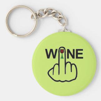 Key Chain Wine Flip