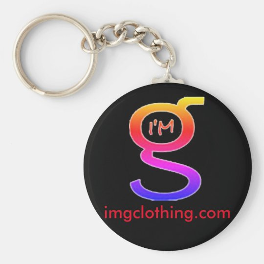 Key Chain with Colourful Logo