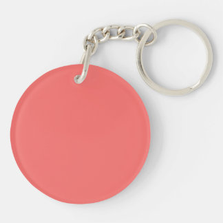 Key Chain with Salmon Pink  Background