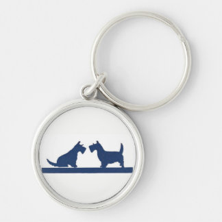 Key Chain with Scottish Terriers