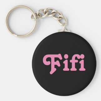 Key Chan Fifi Basic Round Button Key Ring