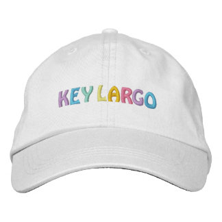 KEY LARGO cap Embroidered Baseball Caps