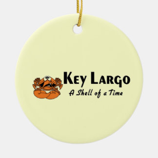 Key Largo crab Christmas Ornament