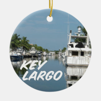Key Largo Florida scene Christmas Ornament