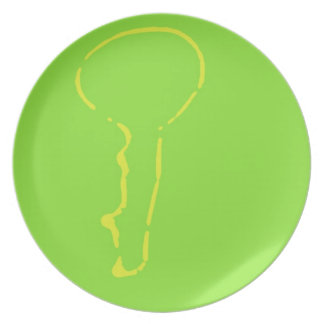Key Lime Cupcake Plate