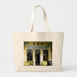 Key Lime Pie Jumbo Tote Bag