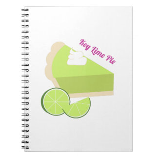 Key Lime Pie Spiral Note Book
