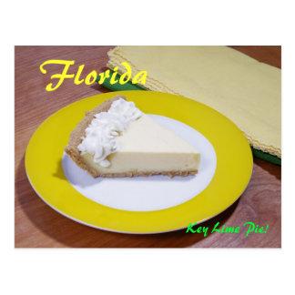 Key Lime Pie Post Card