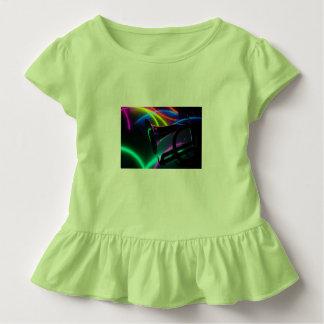 Key lime toddler ruffle tee shirt.