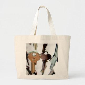 Key Mobile Tote Bags