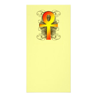 """""""Key of Life (Ankh)"""" in Gold Bookmarks Card"""
