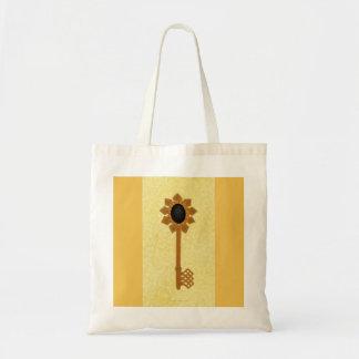 Key of the Future Custom Budget Tote Budget Tote Bag