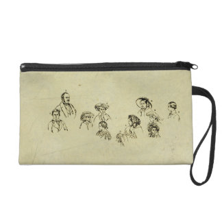 Key Plate to Portrait of the Royal Family at Osbor Wristlets