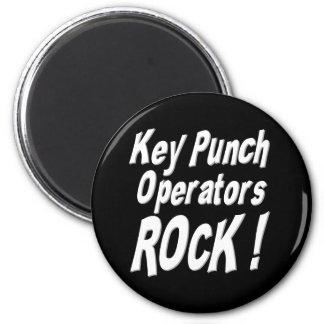 Key Punch Operators Rock! Magnet