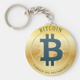 Key ring Bitcoin - M2 Basic Round Button Key Ring