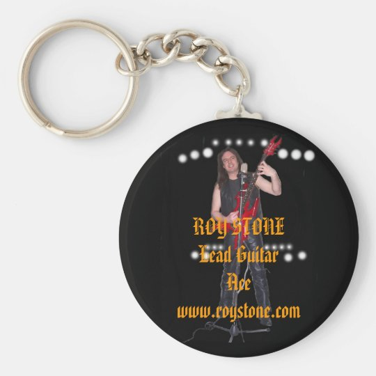 KEY RING, ROY STONE Lead Guitar Ace