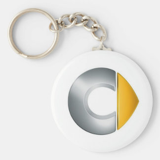 Key ring Smart Logo Basic Round Button Key Ring