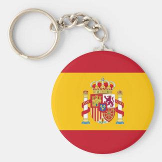 key ring Spanish flag
